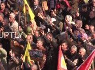 Syrian Kurds allied with US stream into Afrin, Rally against Turkish Offensive