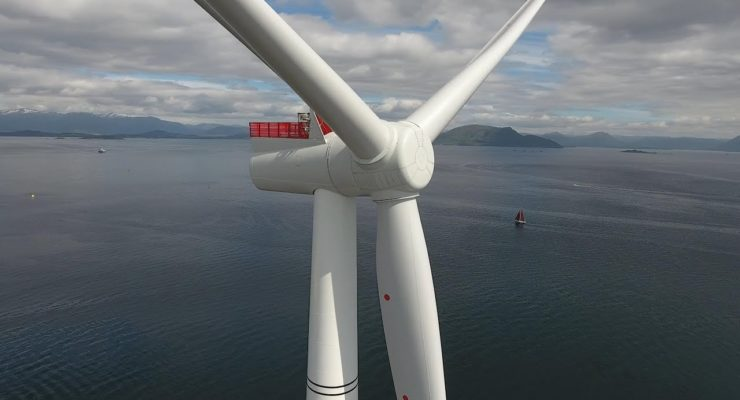 Why the 1st Floating Wind Farm, off Scotland, Might Save the World (Video