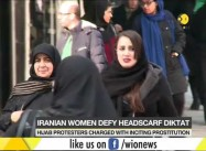 Iran: Women Protesters against Veiling face Regime Prostitution Charges