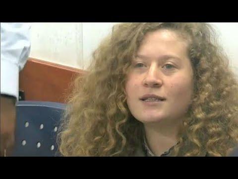 Israel: 8 months for slap in teen journalist Ahed Tamimi Plea Bargain