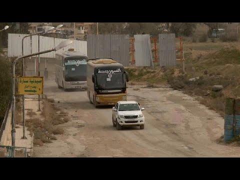 Trump Happy, Bolton Sad? Syrian Regime claims 90% of E. Ghouta as 105k civilians Flee
