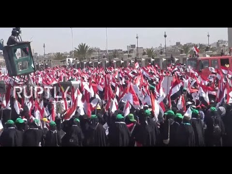 Yemen: Thousands Protest 3 Years of West-backed Saudi War