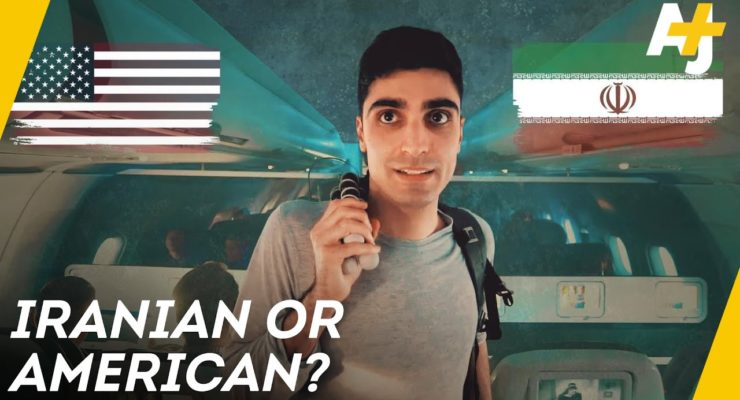 Between Iranian and American (AJ+ Video)