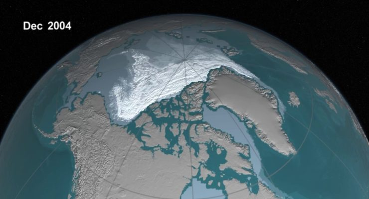 Massive Melting in Arctic is a Danger Signal of Manmade Climate Change