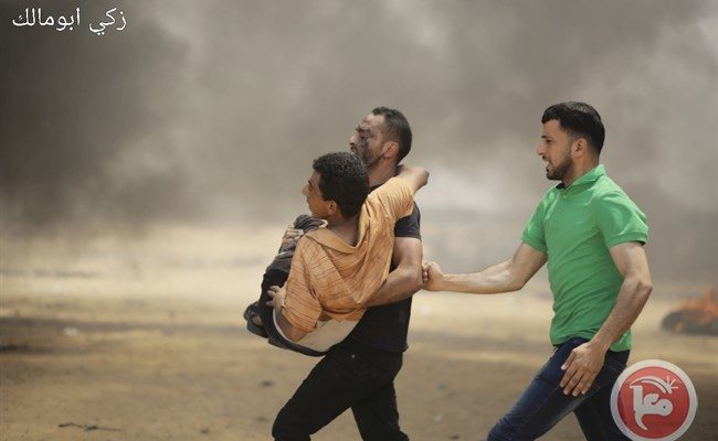 Israeli Snipers massacre Palestinians at Gaza Border Rally, killing 55 & injuring over 2,700