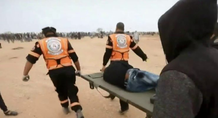 Israeli Rights groups sue Army over Illegal Sniping at unarmed Gaza Protesters (Video)