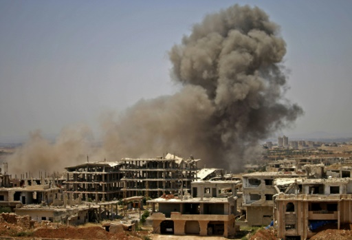 As 50,000 Flee Regime Assault on Daraa, Rebels Face Surrender or Death