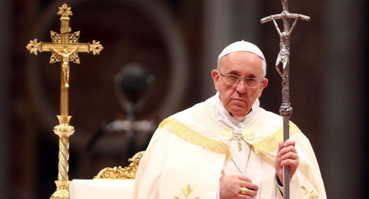 Shorter Pope Francis to Big Oil:  You're Going to Hell if You don't Go Green