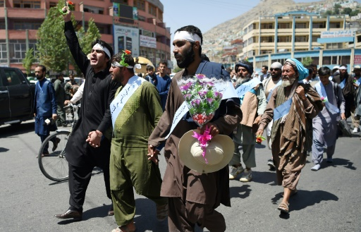 Did You Hear about the Great Afghan Peace March?  MSM Ignores Nonviolent Activists
