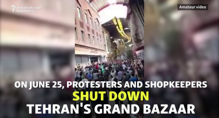 No, Iran's Grand Bazaar Protest doesn't mean the Government or Economy is Collapsing