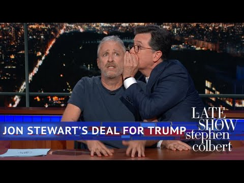 """Trump: Cut out the Final Insult of Sadism and Dickishness"" – Jon Stewart/ Colbert (Video)"