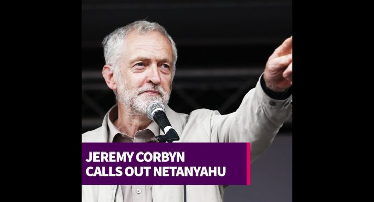UK Labour's Corbyn Refutes Netanyahu's Smears, Calls out Policy of Shooting Gaza Kids