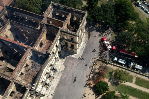 Corrupt Gov't Kept slashing Nat'l Museum, Now Brazilian History up in Smoke