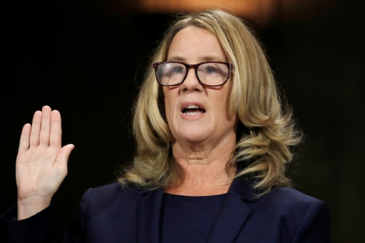 Blasey Ford Cued Survivors to Speak out, from Jeff Flake's Elevator to Alyssa Milano