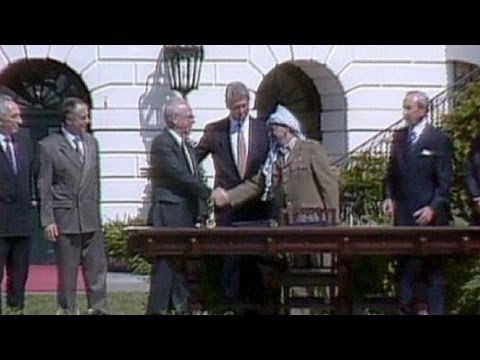Fierce Optimism of Oslo Accords has Vanished 25 Years On