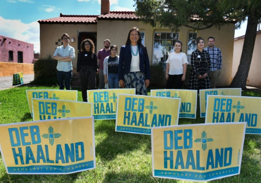 Could Deb Haaland be the First Native American Woman in Congress?