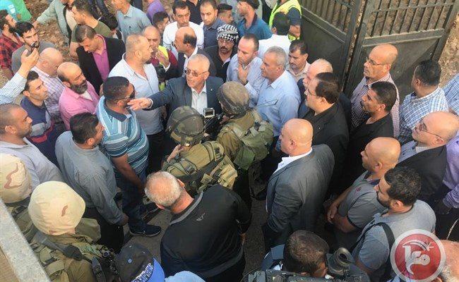 Dozens injured as Palestinians Protest Israeli Closure of Nablus School in Palestine
