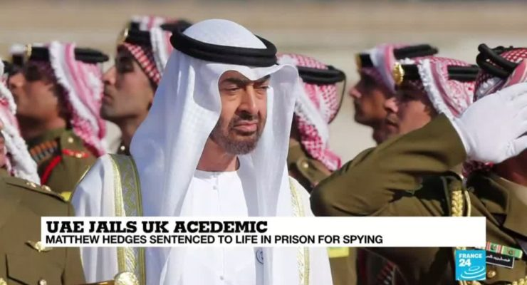 British Universities Boycott United Arab Emirates over Student 'Spying' Life Sentence