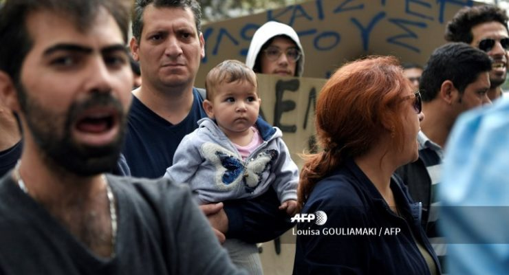 Jerusalem in Athens:  Refugees, the Youth Left and the Crises of Nation and Capital