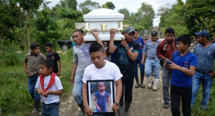 Second Guatemalan Child dies Christmas Eve in US Border Protection Custody