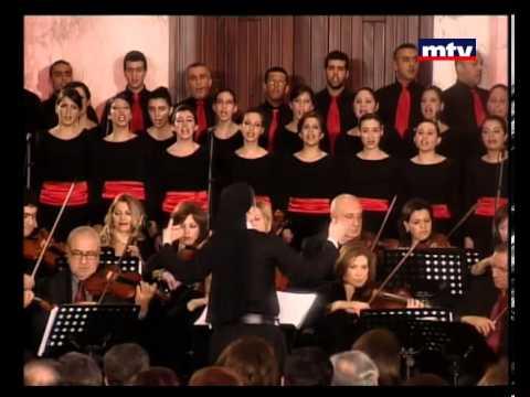 Arab Christmas Music Concert:   Majida el Roumi (MTV Lebanon)