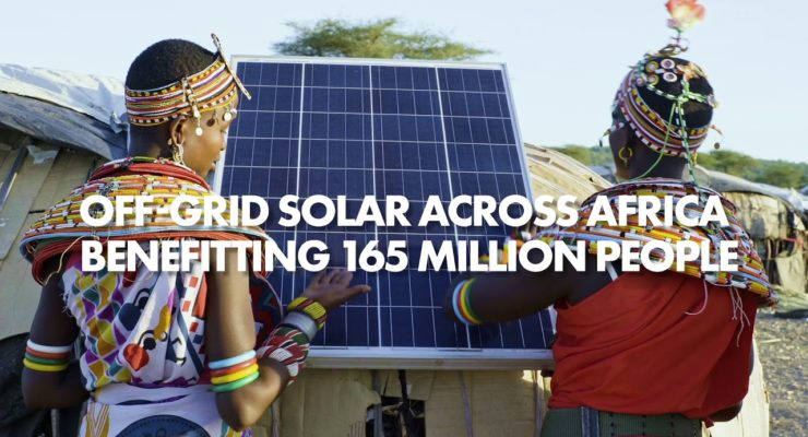 Energy Revolution: Off-Grid Solar across Africa Benefits 165 mn. People (Video)