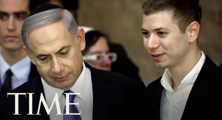Israeli PM Netanyahu's Son Banned from Facebook after Call to Expel 2 mn. Muslims