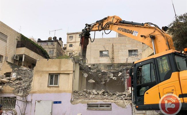Israel demolished 10% more Palestinian Structures in 2018: OCHA