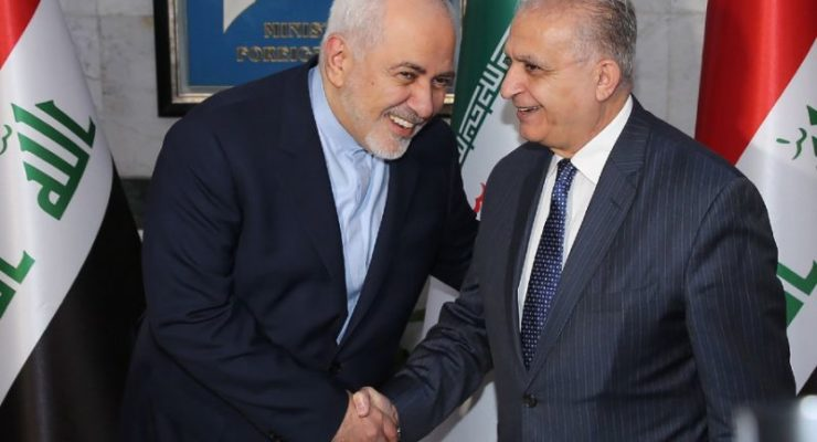 "Iraq welcomes Iran Foreign Minister after Pompeo, denounces US Sanctions as ""Illegal"""