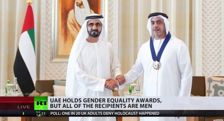 Social Media Ridicule: Emirates' Gender Equality Award Winners All Men