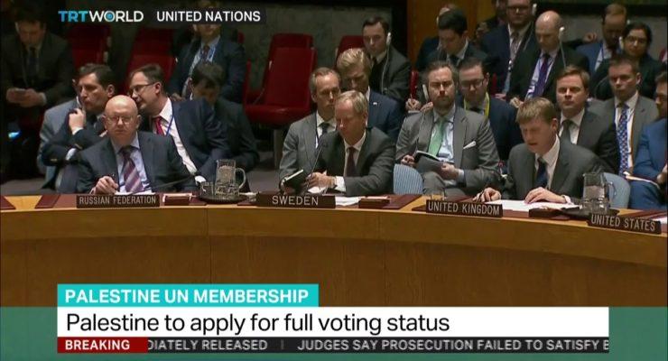 Stateless Palestinians Seek Full State Membership at UN, Defying Trump & Netanyahu
