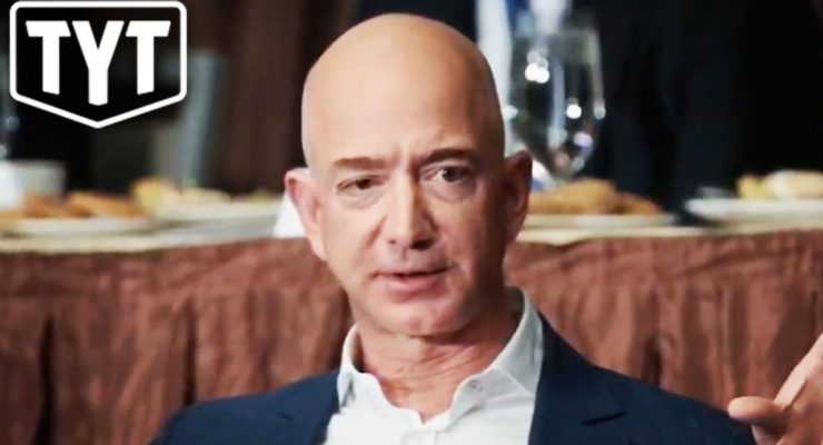 Did the National Enquirer blackmail Amazon's Jeff Bezos to Protect the Saudi Crown Prince?