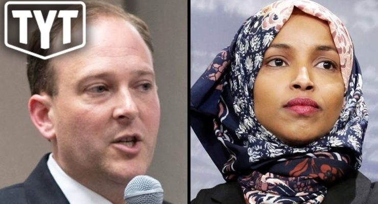 GOP Rep's Tweet seen as Racist toward Muslim-American Congresswoman (Young Turks)