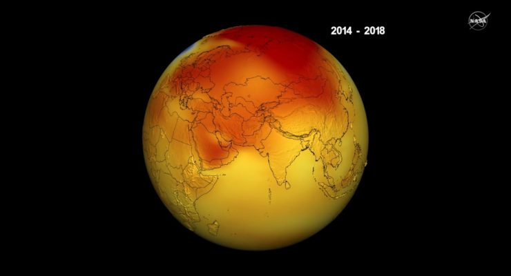 Last 5 Years Hottest on Record:  NASA, NOAA; & World Hotter than any time in 120,000 years