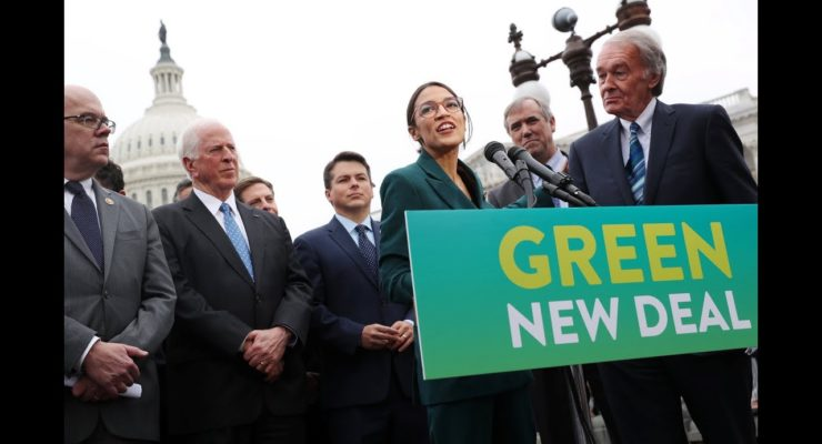 The Age of Environmental Breakdown:  We need the Green New Deal Now!