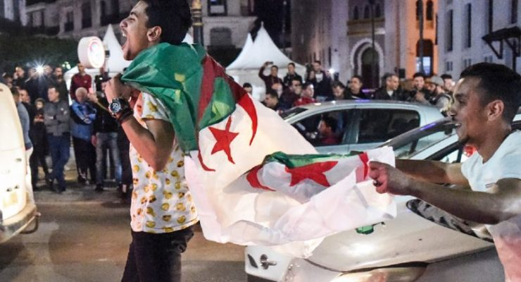 Algeria:  Street Crowds, Youth, Overthrow sixth Arab President in 8 Years