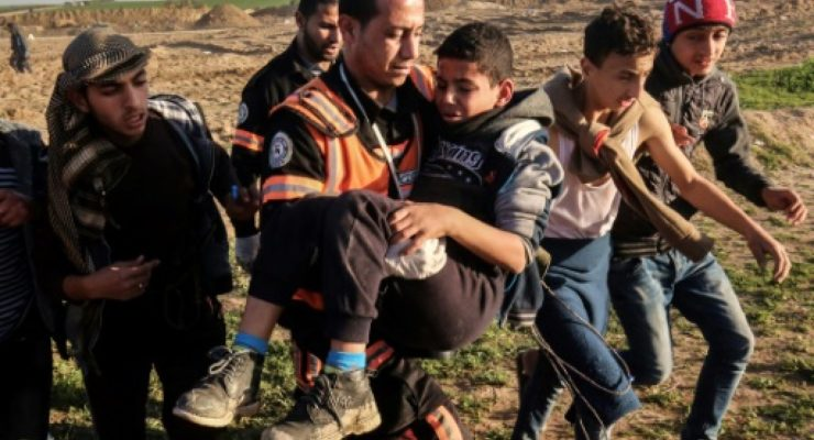 Israeli Snipers Kill 40 Children, send 3,000 to Hospital in Year of Gaza Border Protests