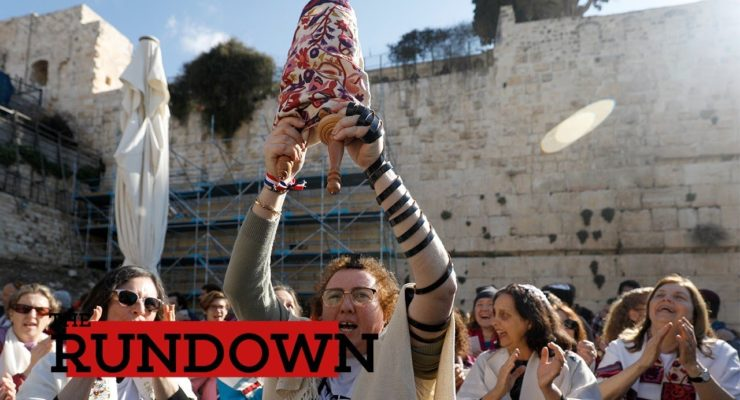 On Int'l Women's Day, Thousands of Ultra-Orthodox Assault Women of the Wailing Wall