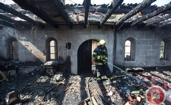 Notre Dame of Gaza:  Our Mosques and Churches are Also Burning