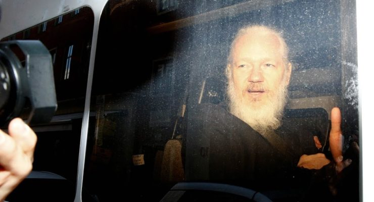 Assange's Arrest means that any Journalist can be extradited to US  for Publishing the Truth