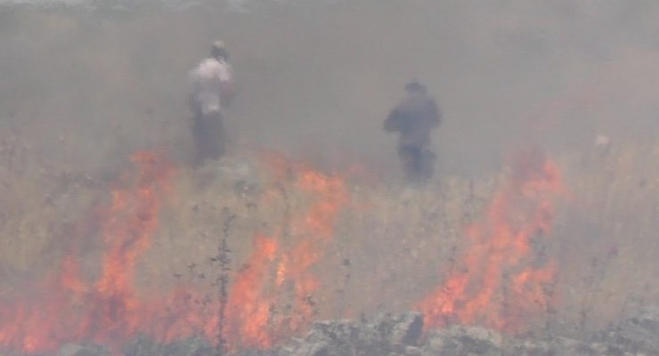 Israeli Army Accused Palestinians of self-arson, Then Video emerged of Israelis setting Fires