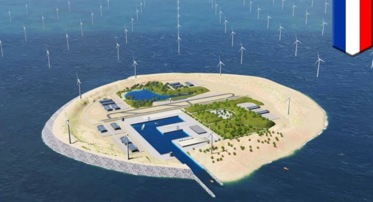 "180 Gigs of Offshore Wind: Europe May Build 10 Artificial North Sea ""Energy Islands"""