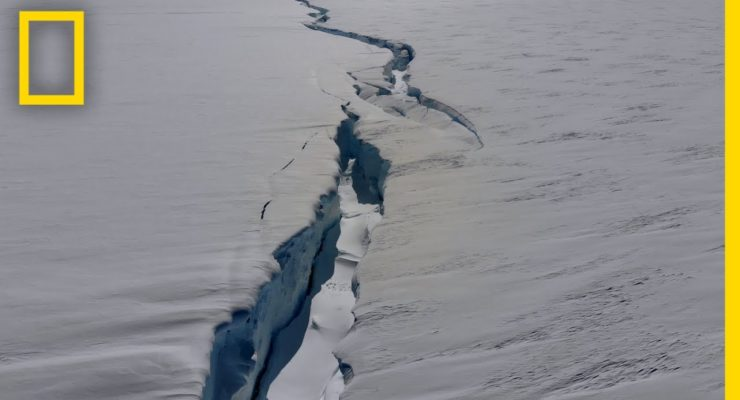 New research shows that Antarctica's largest floating ice shelf is highly sensitive to warming of the ocean