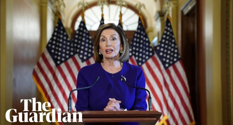 "Finally, an Impeachment Inquiry: Pelosi on ""Nationalist"" Trump's ""betrayal of our National Security"""