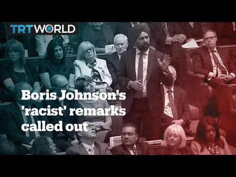 Islamophobia, Boris Johnson and the British Conservative Party