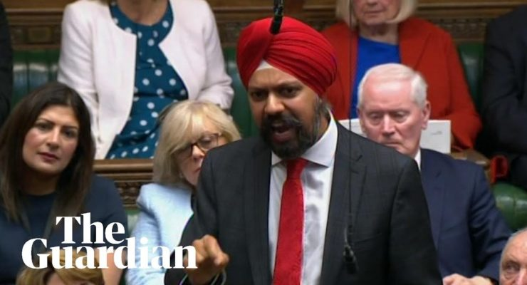 Islamophobia: Sikh Member of British Parliament Lets Boris Johnson have it over Conservative Bigotry