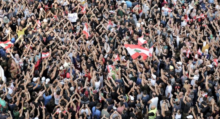 How Lebanon's Uprising Defies the Sectarian Narrative: Not Sunni, Shiite, Christian