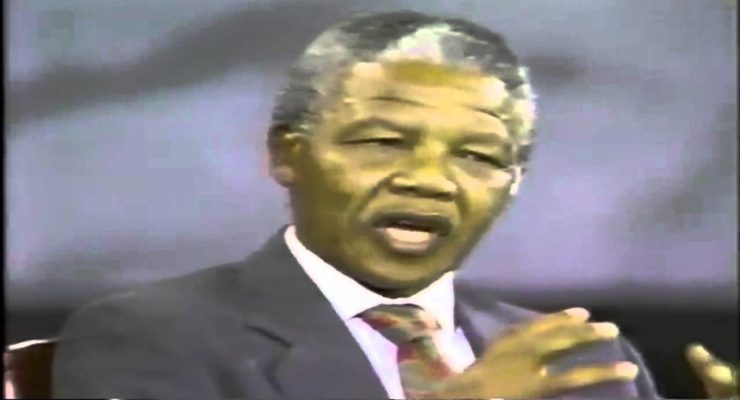 Nelson Mandela's Church Joins Boycott, Divestment from Israel to Continue anti-Apartheid Struggle