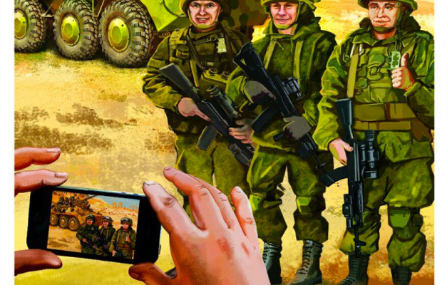 Russian Troops Triumphantly take over US Bases in Syria, Show off Social Media Skills