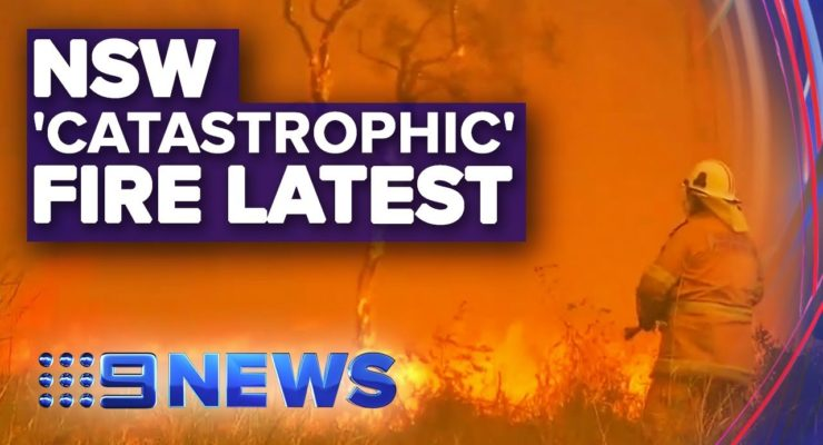 """Catastrophic"" Wildfires Threaten Sydney, Australia as Gov't Backs Coal"